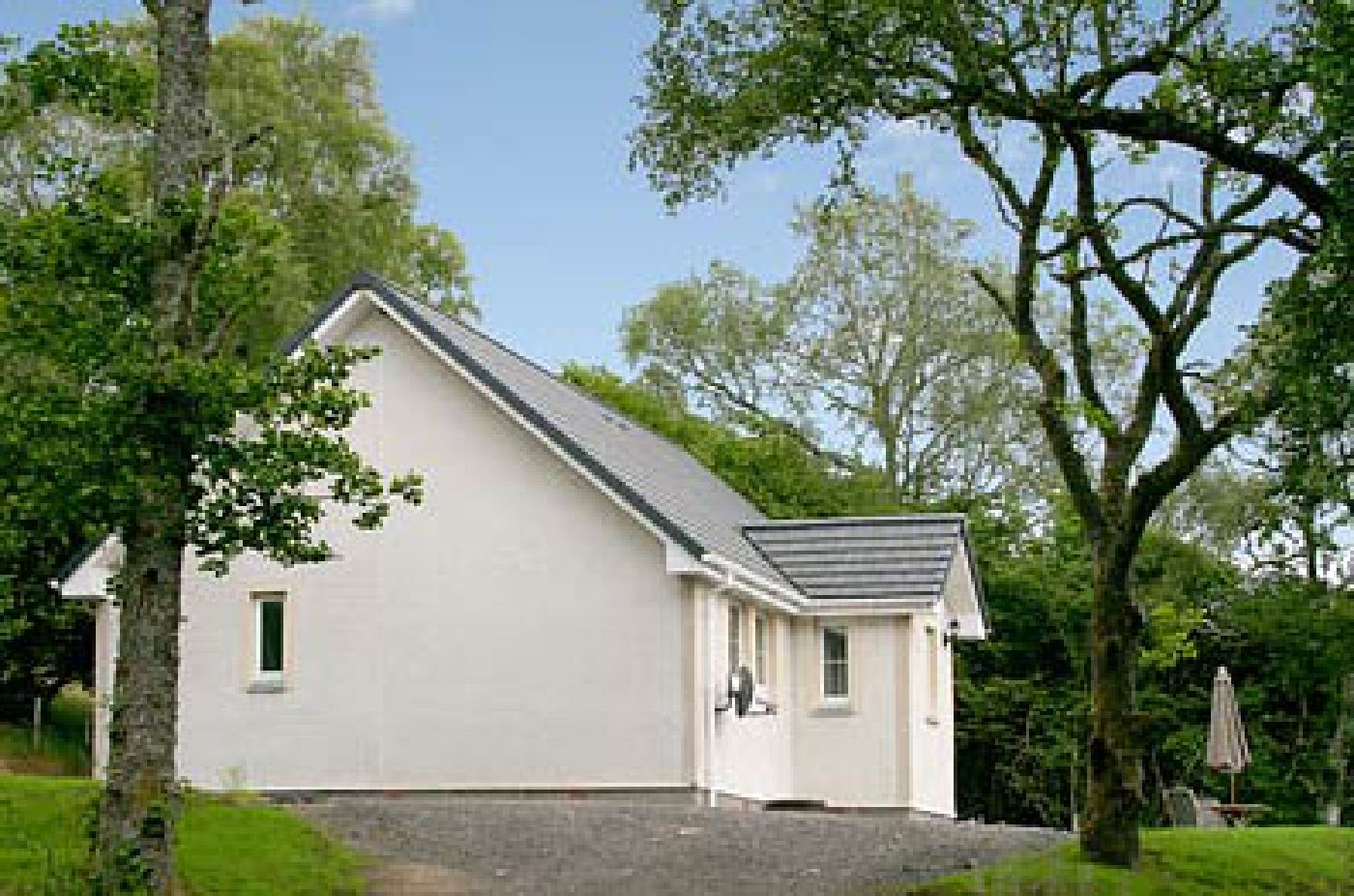 Silver Birch self-cateringCottage exterior